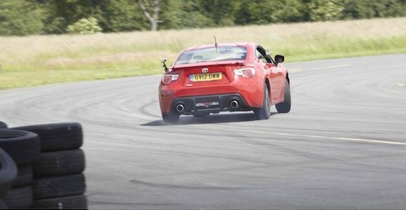 GT86 on Top Gear