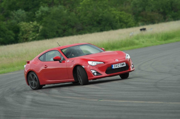 GT86 on Top Gear