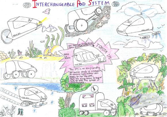 2013 Toyota Dream Car Art Contest
