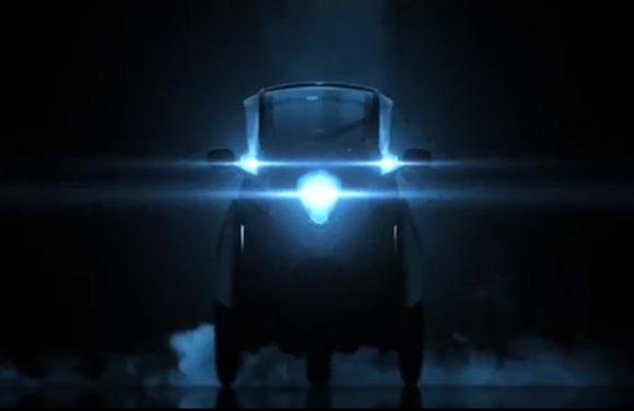 Toyota i-Road front teaser
