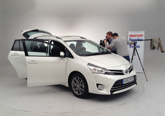 What Car Toyota Verso reader test team