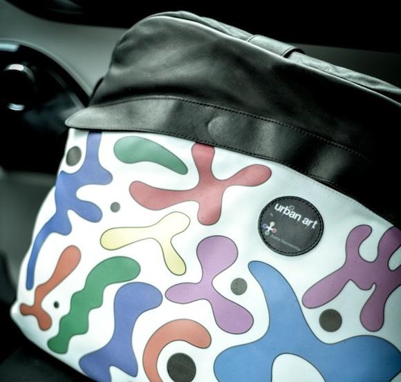 Toyota iQ Urban Art bag