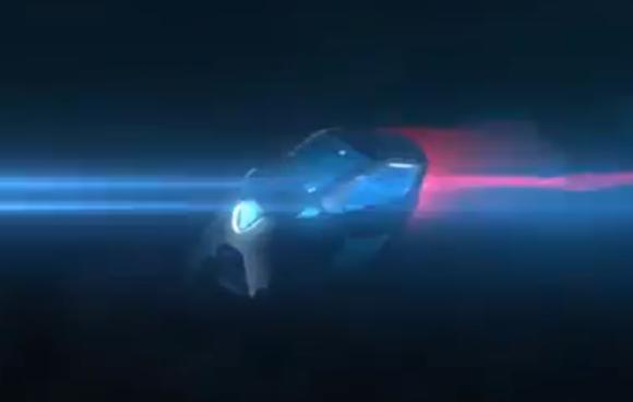 Toyota i-Road front quarter teaser