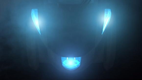 Toyota i-Road teaser lights