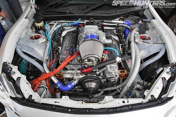 RS-R GT86 V8 engine