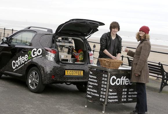 Toyota iQ Coffee2Go
