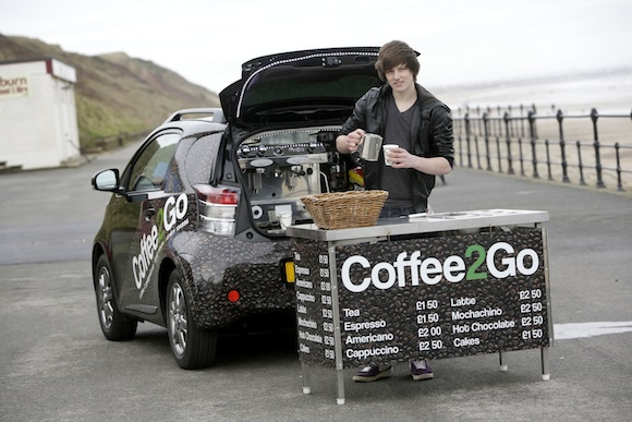 Toyota Stories - Jason Bowes and the Coffee2Go iQ