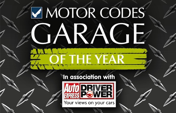 Motor Codes Garage Of The Year logo
