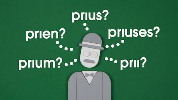 Plural of Prius
