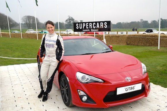 Rebecca Jackson with the GT86
