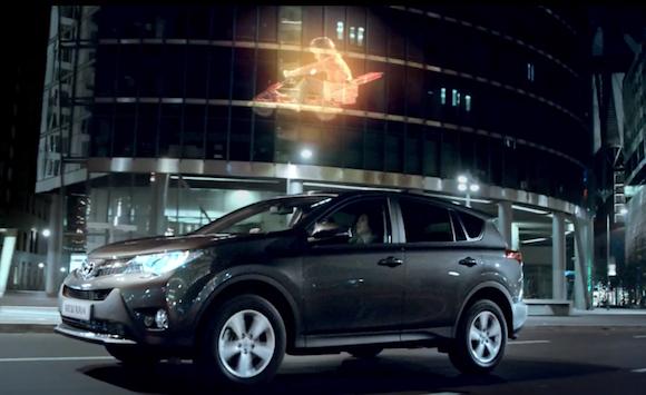 Toyota RAV4 advert