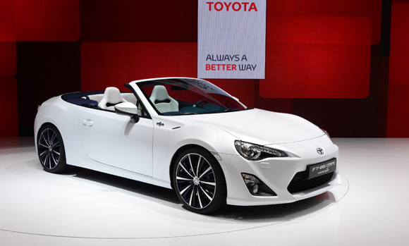 New Toyota Sports Car 2013 Toyota Ft-open 86