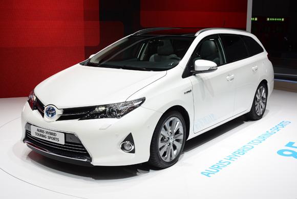 Toyota Auris Touring Sports at Geneva