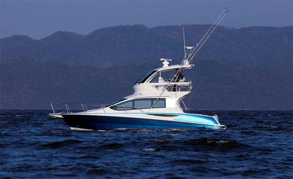Ponam 35-foot luxury leisure cruiser