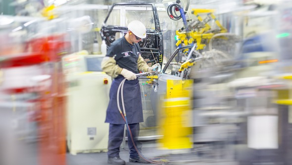 how toyota operates its philosophies between Creating sustainable competitive advantage: the toyota philosophy and its effectsnon-lean companies lean companies.