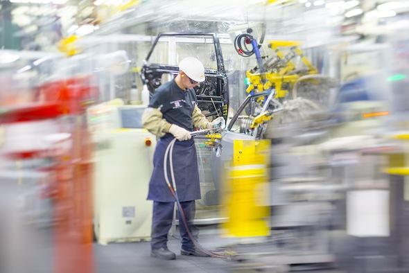 Genba at Toyota Motor Manufacturing UK Burnaston