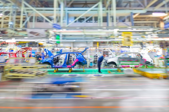 Kaizen in action at Toyota Motor Manufacturing UK