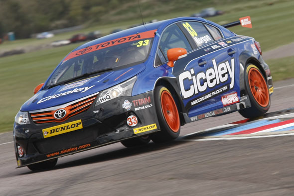 Adam Morgan Ciceley Racing BTCC Toyota Avensis