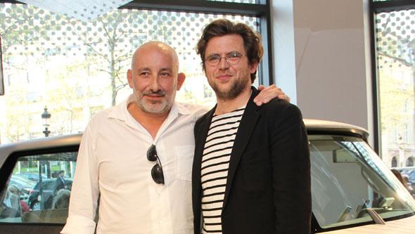 Jean-Marie Massaud (left)