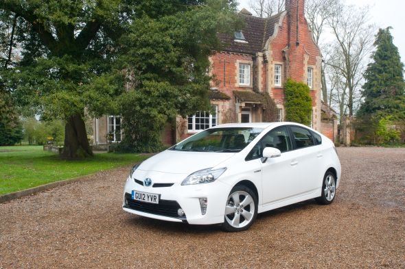 Prius at home