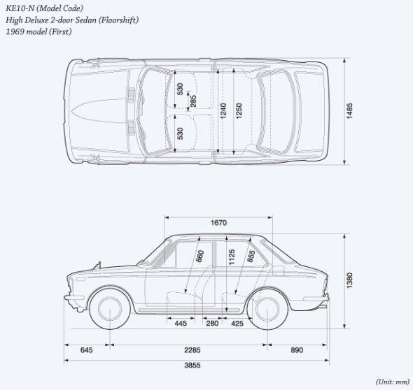 Corolla 01 drawing