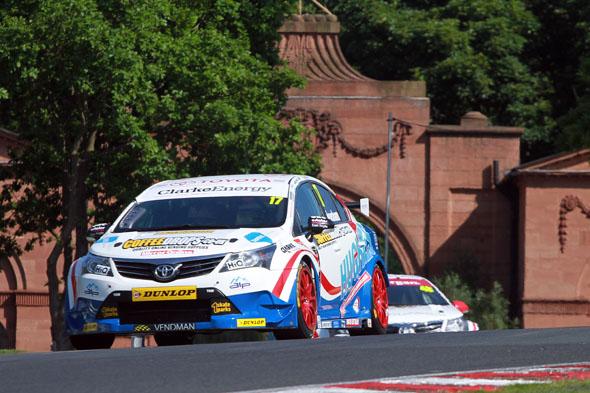 Dave Newsham Speedworks Motorsport BTCC Toyota Avensis