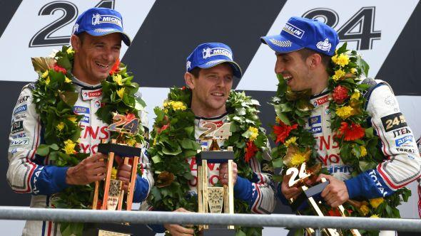 2013 Le Mans podium