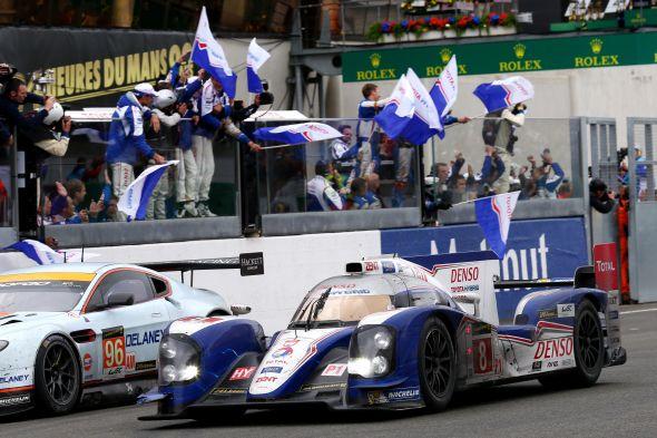 2013 Le Mans flag