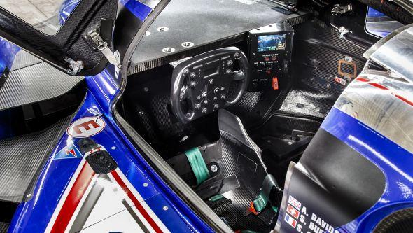 Toyota TS030 interior