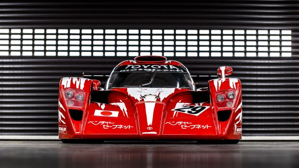 Toyota TS020 front