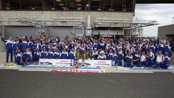 2013 Le Mans team