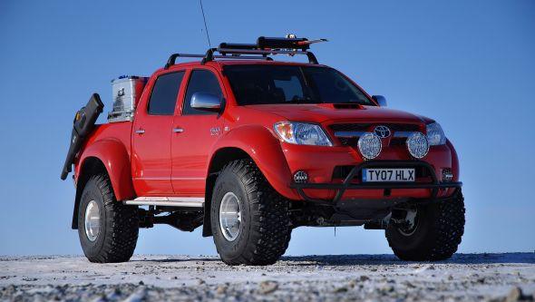 Top Gear Polar Hilux