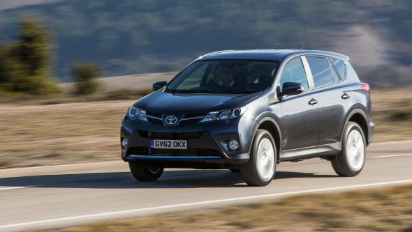 New RAV4 moving