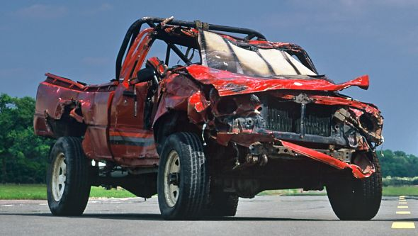 Top Gear's indestructible Toyota Hilux