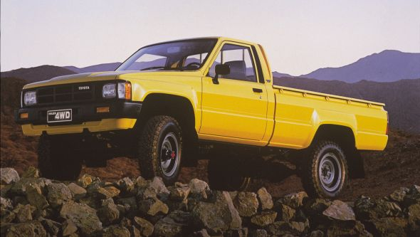history of the toyota hilux toyota. Black Bedroom Furniture Sets. Home Design Ideas
