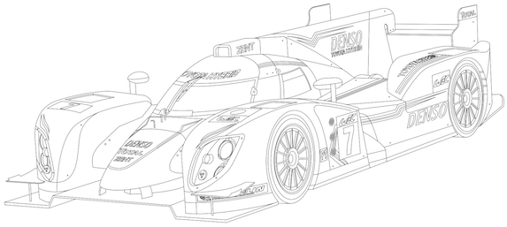 Mustang Coloring Pages likewise 2011 11 01 archive together with Get Creative With Our Toyota Summer Colouring  petition in addition London To Brighton Veteran Car as well 2014 Audi Sq5 Blueprints. on audi tt rs race car