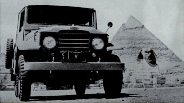 1957 20-series Toyota Land Cruiser