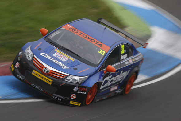 Adam Morgan Ciceley Racing Avensis