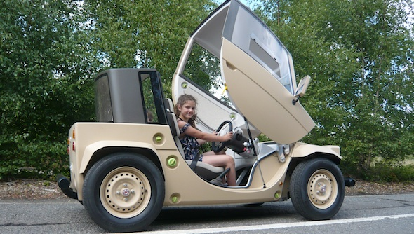 Toyota Camatte test drive