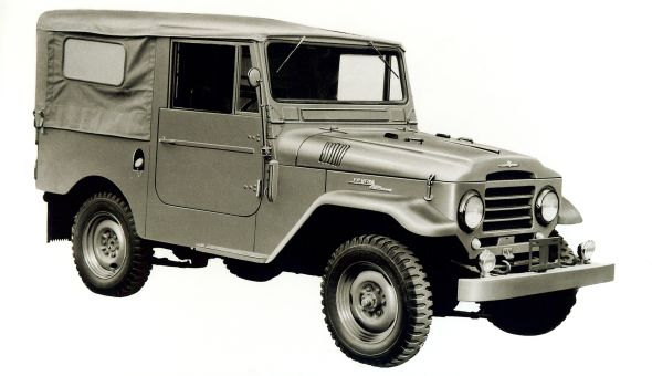 1955 20-series Toyota Land Cruiser