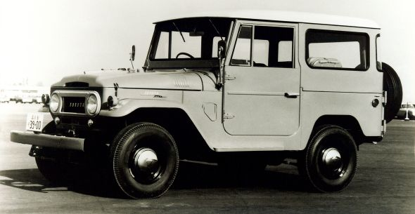 1960 40-series Toyota Land Cruiser