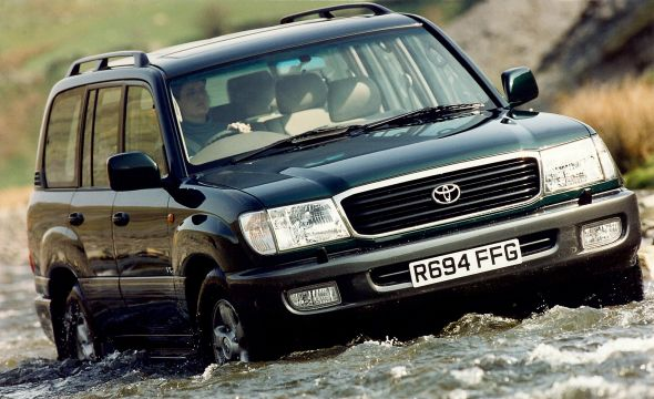 100-series Toyota Land Cruiser Amazon