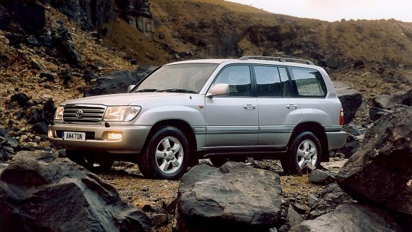 100-series Toyota Land Cruiser Amazon 2