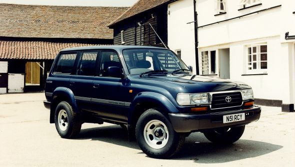 80-series Toyota Land Cruiser GS