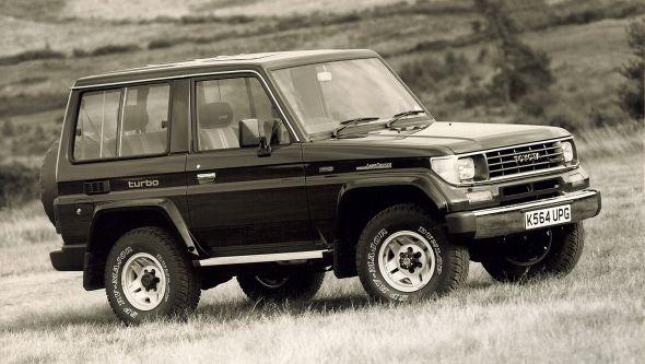 Land Cruiser History 70 series