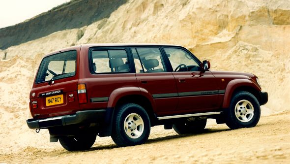 80-series Toyota Land Cruiser VX