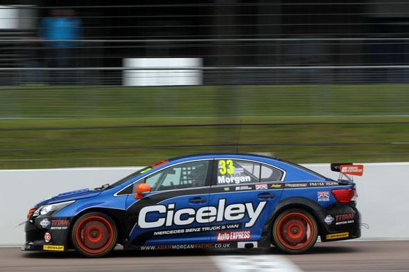 Adam Morgan Ciceley Racing Avensis