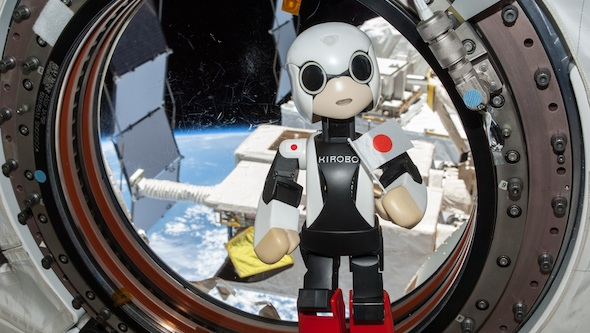 Kirobo in space