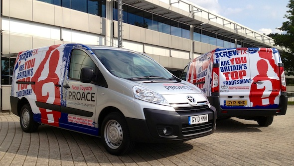 Screwfix Proace