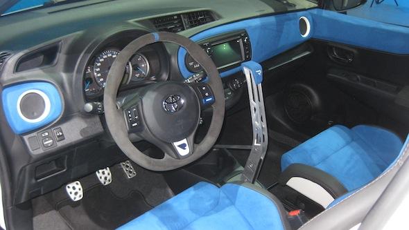 Yaris Hybrid-R interior